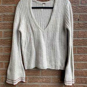 Free People Wool & Yak Sweater